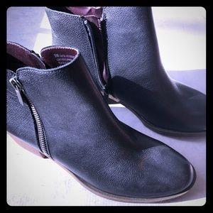 KENZIE Leather Booties